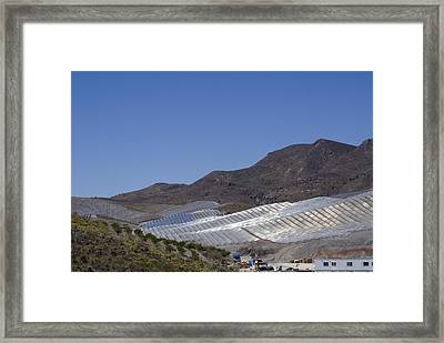 Solar Power Plant, Cala San Pedro, Spain Framed Print by Chris Knapton