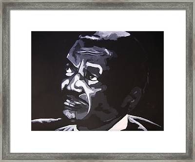 Son The Preacher Framed Print