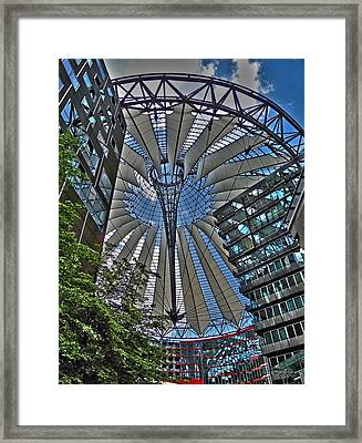 Sony Center - Berlin Framed Print