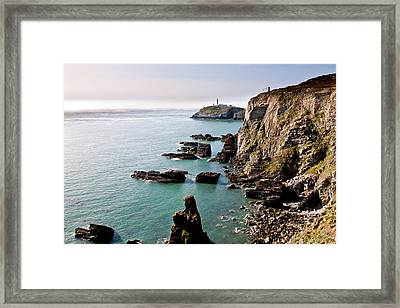 South Stack Framed Print by Gary Finnigan