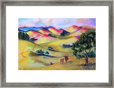 Southern Sunrise Framed Print by Susan  Clark