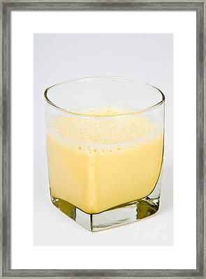 Soy Milk Framed Print