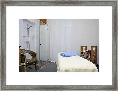 Spa And Wellness Center Framed Print by Jaak Nilson