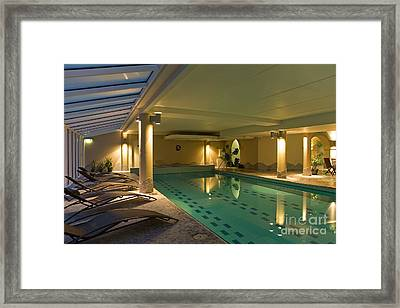 Spa Swimming Pool Framed Print by Jaak Nilson