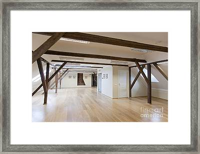 Spacious Conference Room Framed Print by Jaak Nilson