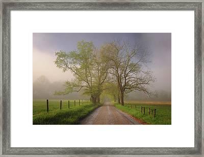 Sparks Lane Framed Print by Joseph Rossbach