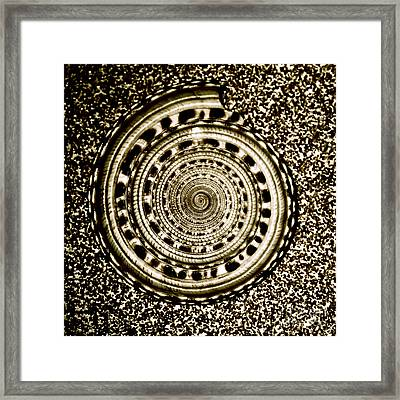 Spiral Framed Print by HD Connelly