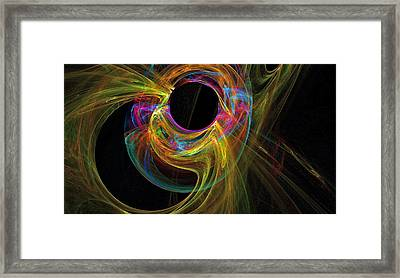 Spirit Of Fire Walker Framed Print