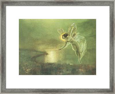 Spirit Of The Night Framed Print by John Atkinson Grimshaw