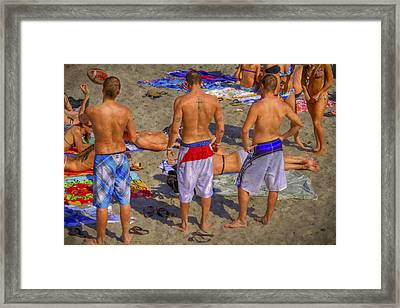 Spring Break Framed Print by Debra and Dave Vanderlaan