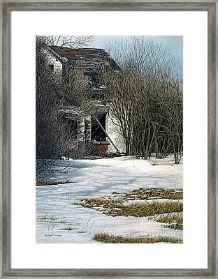 Spring Is Approaching Framed Print
