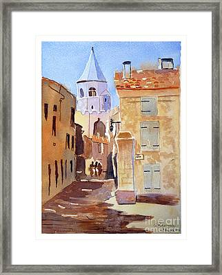 St Martin's Tower France Framed Print
