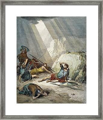 St. Paul: Conversion Framed Print by Granger