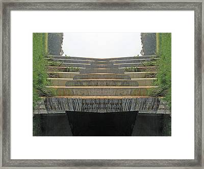 Stairs Framed Print by Michele Caporaso