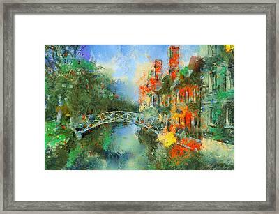 Stamford Bridge Framed Print by Yury Malkov