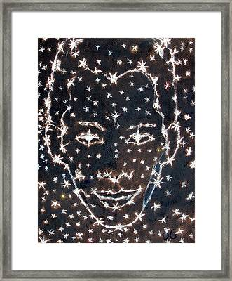 Starry Eyed Framed Print by Dennis Goodbee