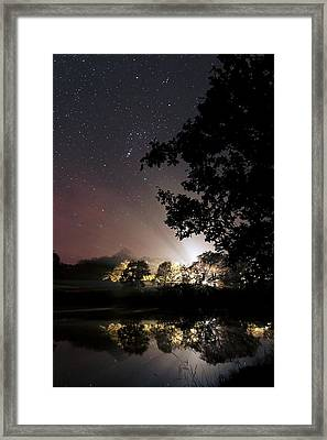Starry Night Framed Print by Laurent Laveder