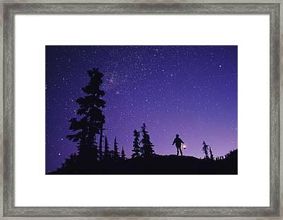 Starry Sky Framed Print by David Nunuk