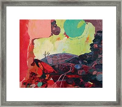 Start Leaving Things Behind Framed Print by Missy Borden