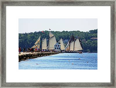 Starting Line Framed Print