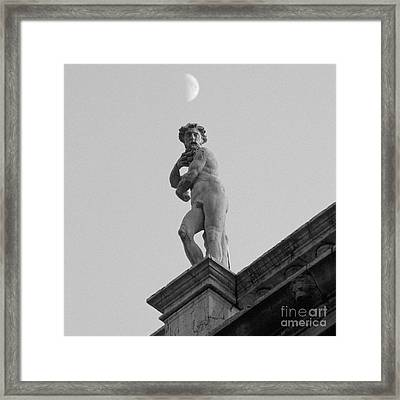 Statuary Gaze Framed Print by Gordon Wood
