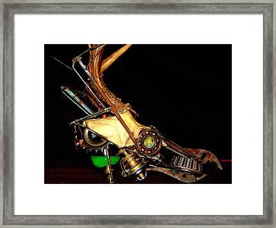 Steampunk Vav  Framed Print