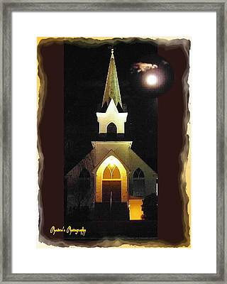 Framed Print featuring the photograph Steeple Chase 3 by Sadie Reneau