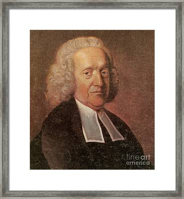 Stephen Hales, English Botanist Framed Print by Science Source