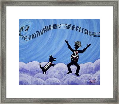 Still Dancing Framed Print