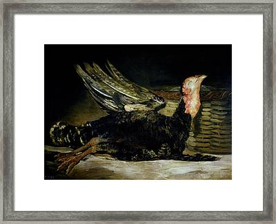 Still Life Framed Print by Goya