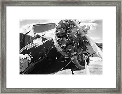 Stinson Tri-motor 1931 Framed Print by Maxwell Amaro