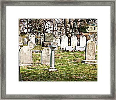 Stjamescem3 Framed Print by J erik Leiff