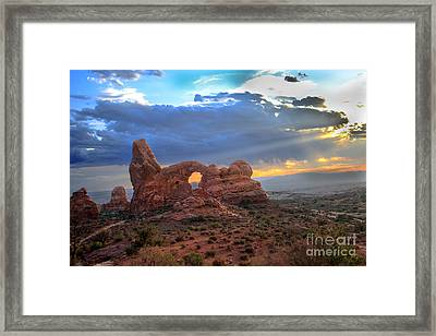 Storm Clouds II Framed Print by Robert Bales