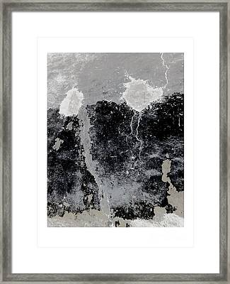 Storm Framed Print by Peter Szabo
