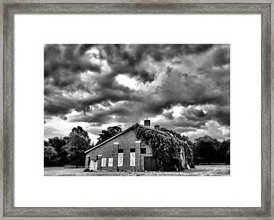 Stormy Monday #1 Framed Print by John Derby