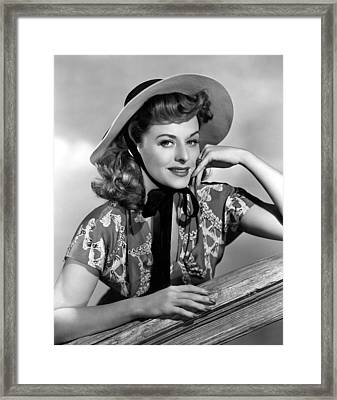 Suddenly Its Spring, Paulette Goddard Framed Print by Everett