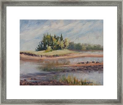 Summer Days Are Numbered Framed Print by Debbie Lamey-MacDonald