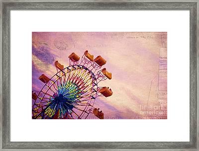 Summer Fun Framed Print by Darren Fisher