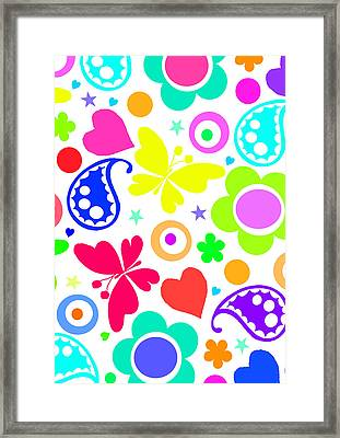 Summer Fun Framed Print by Louisa Knight