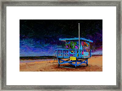 Summer Of Color Framed Print by Ron Regalado