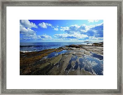 Summer Sky Framed Print