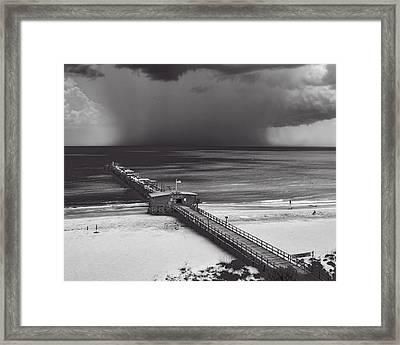 Summer Storm Framed Print by Gordon Engebretson