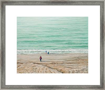 Summer Vacation Framed Print