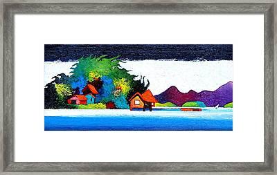 Summer Vacation Framed Print by Rob M Harper