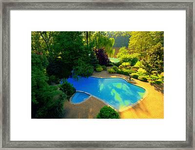 Sunrise At Farrington Lake Framed Print
