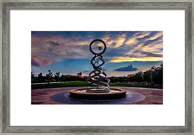 Sunset Framed Print by Sergio Aguayo