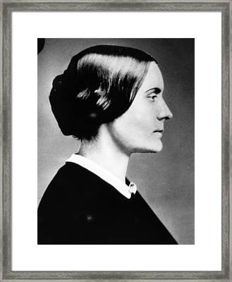 Susan B. Anthony 1820-1906, American Framed Print