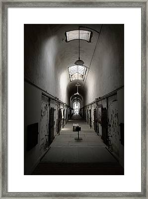 Sweet Home Penitentiary Framed Print by Richard Reeve
