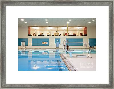 Swimming Pool Framed Print by Andersen Ross