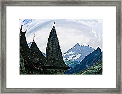 Swiss Home Framed Print